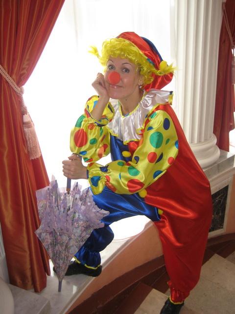 Клоун из подручных материалов